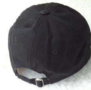 Accessories - NEW Baseball cap 100% cotton cat paws hat black